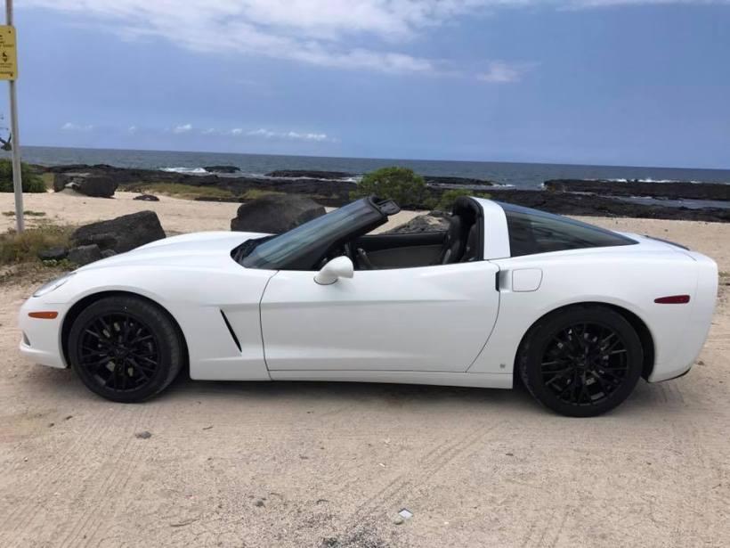 corvette white