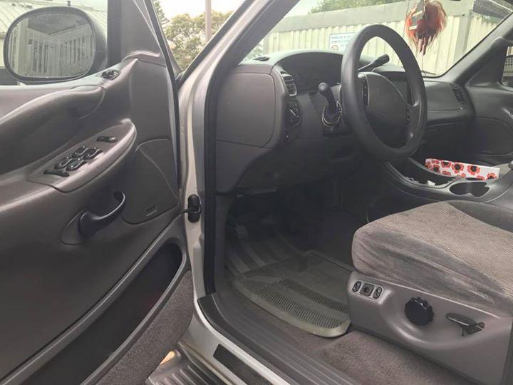 Ford interior