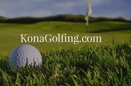 Golfing in Kona