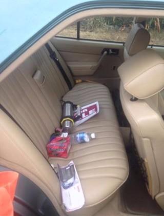 back seat mercedes