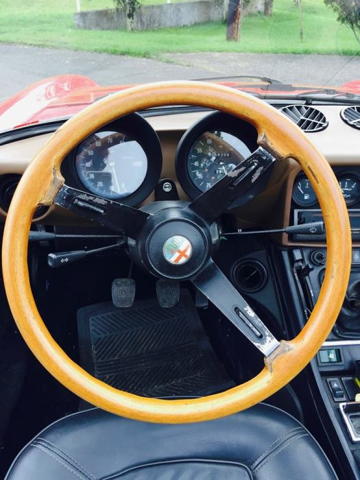 Dash board of Alfa Romeo